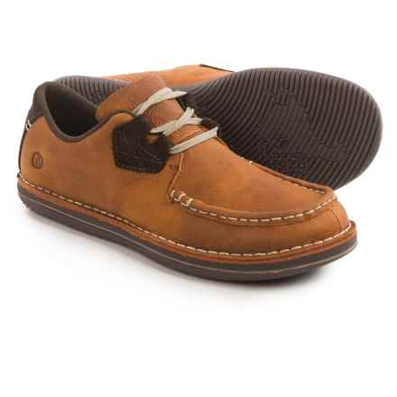 Merrell Bask Lace Shoes - Leather (For Men) in Clay - Closeouts
