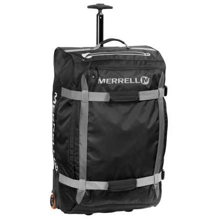 Merrell Beattie Rolling Duffel Bag - Large in Black - Closeouts