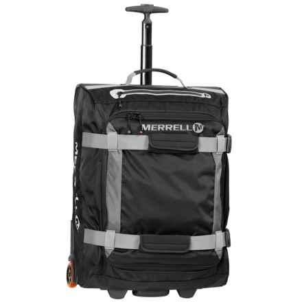 Merrell Beattie Rolling Duffel Bag - Small in Black - Closeouts