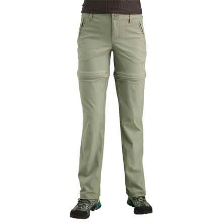 Merrell Belay Convertible Pants - UPF 50+ (For Women) in Seagrass - Closeouts