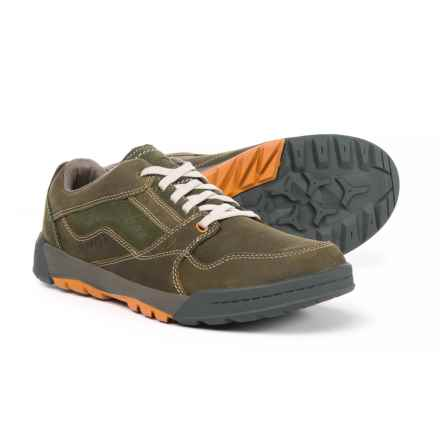 Merrell Berner Lace Shoes - Leather (For Men) in Dusty Olive - Closeouts