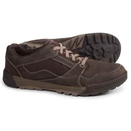 Merrell Berner Lace Shoes - Leather (For Men) in Espresso - Closeouts