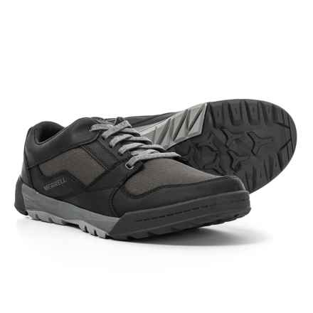 Merrell Berner Shift Lace Shoes (For Men) in Black - Closeouts