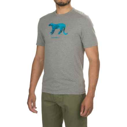 Merrell Big Cat Graphic T-Shirt - Short Sleeve (For Men) in Manganese Heather - Closeouts