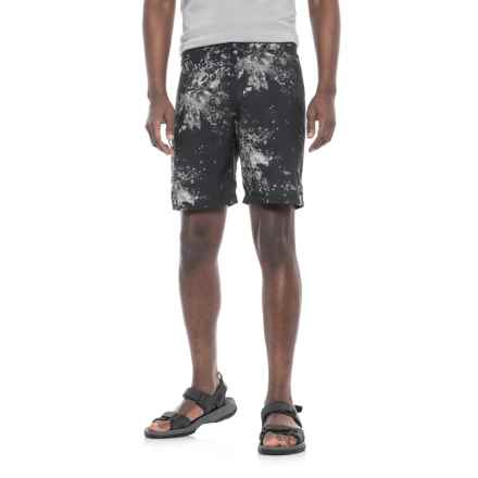 Merrell Big River Shorts (For Men) in Black/Gray Print - Closeouts