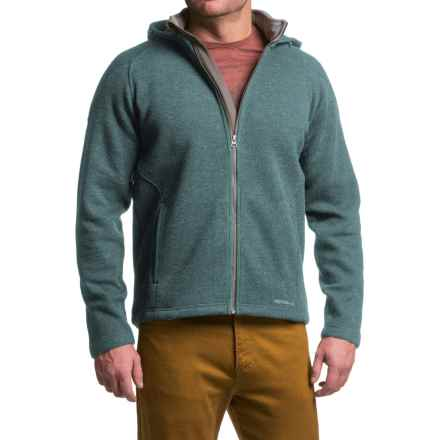 Merrell Big Sky Hoodie - Full Zip (For Men) in Blue Spruce Heather - Closeouts