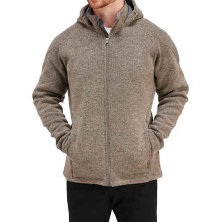 Merrell Big Sky Hoodie - Full Zip (For Men) in Cappuccino Heather - Closeouts