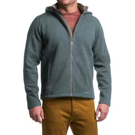 Merrell Big Sky Hoodie - Full Zip (For Men) in Utility Blue - Closeouts
