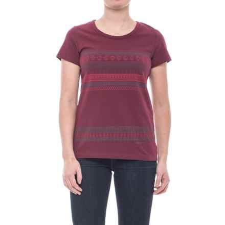 Merrell Boho T-Shirt - Short Sleeve (For Women) in Windsor Wine - Closeouts