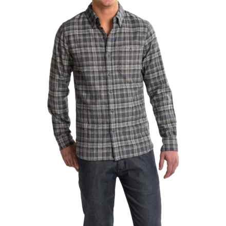 Merrell Boyce Jaspe Shirt - Long Sleeve (For Men) in Asphalt - Closeouts