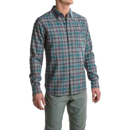 Merrell Boyce Jaspe Shirt - Long Sleeve (For Men) in Blue Spruce - Closeouts