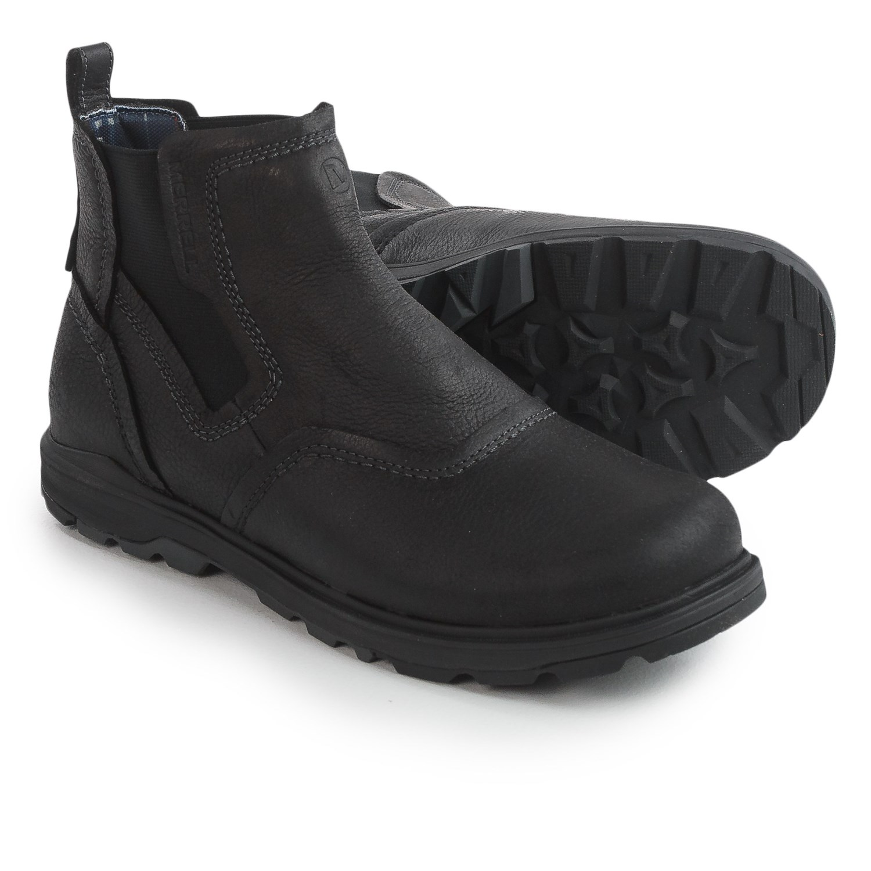 Merrell Black Work Shoes