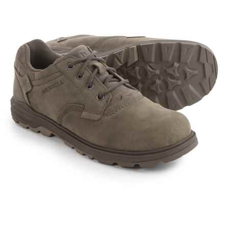 Merrell Brevard Lace-Up Shoes - Nubuck (For Men) in Brindle - Closeouts