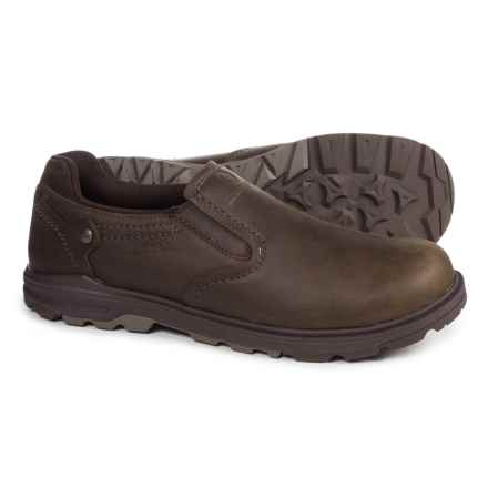 Merrell Brevard Moc Shoes - Leather, Slip-Ons (For Men) in Shetland - Closeouts