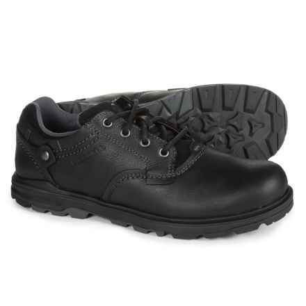Merrell Brevard Oxford Shoes - Nubuck (For Men) in Black - Closeouts