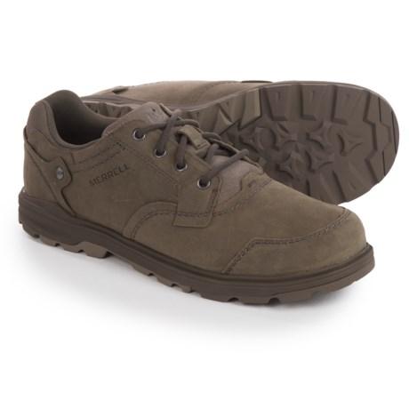 Merrell Brevard Oxford Shoes - Nubuck (For Men) in Brindle