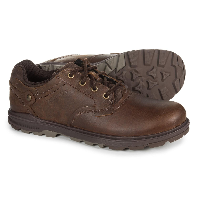 Merrell Brevard Oxford Shoes - Nubuck (For Men) in Shetland