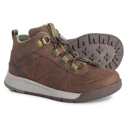 Merrell Burnt Rock Boots (For Boys) in Brown - Closeouts