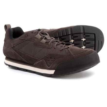 Merrell Burnt Rock Tura Rugged Casual Sneakers - Suede (For Men) in Espresso - Closeouts