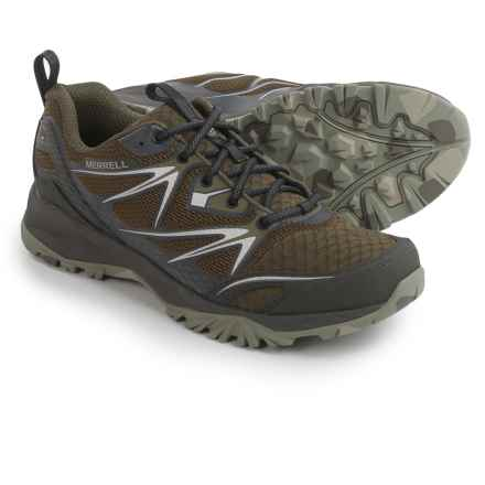 Merrell Capra Bolt Air Hiking Shoes (For Men) in Olive - Closeouts