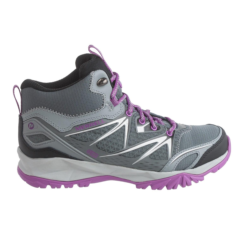 Merrell Men S Capra Bolt Mid Waterproof Shoes