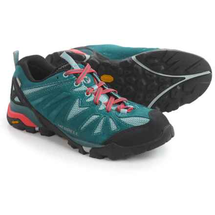 Merrell Capra Hiking Shoes - Waterproof (For Women) in Dragonfly - Closeouts