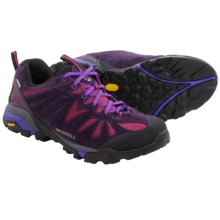 Merrell Capra Hiking Shoes - Waterproof (For Women) in Wild Plum - Closeouts