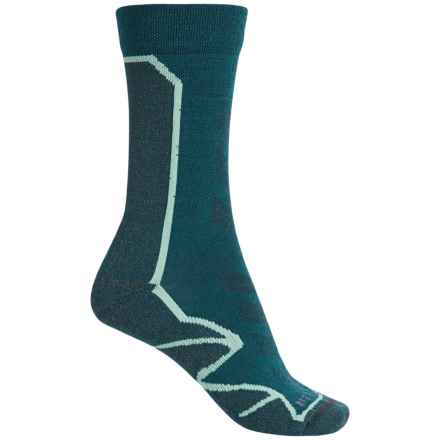 Merrell Capra Hiking Socks - Crew (For Women) in Blue Spruce - Closeouts