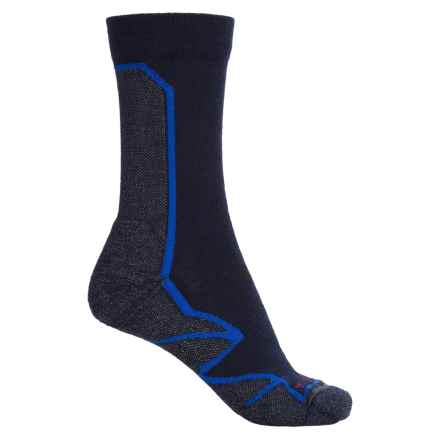 Merrell Capra Hiking Socks - Crew (For Women) in Eclipse/Surf - Closeouts