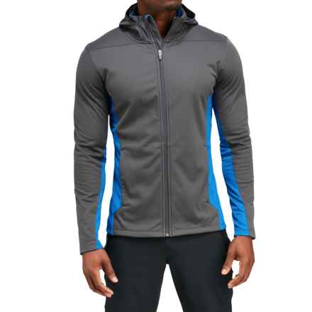 Merrell Capra Hybrid Windblocker Hoodie - UPF 30 (For Men) in Asphalt - Closeouts