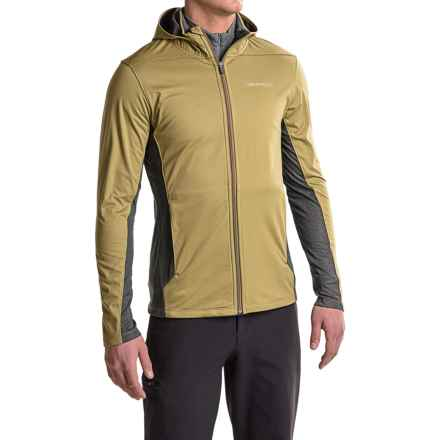 Merrell Capra Hybrid Windblocker Hoodie - UPF 30 (For Men) in Gothic Olive - Closeouts