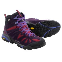 Merrell Capra Mid Hiking Boots - Waterproof (For Women) in Wild Plum - Closeouts