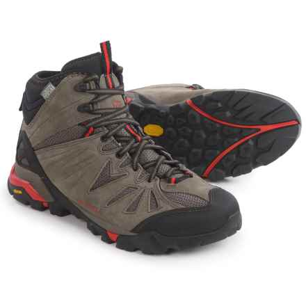 Merrell Capra Mid Hiking Boots - Waterproof, Suede (For Men) in Boulder - Closeouts
