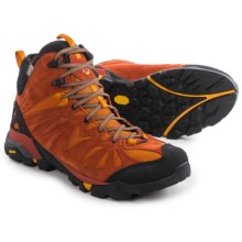 Merrell Capra Mid Hiking Boots - Waterproof, Suede (For Men) in Dark Rust - Closeouts