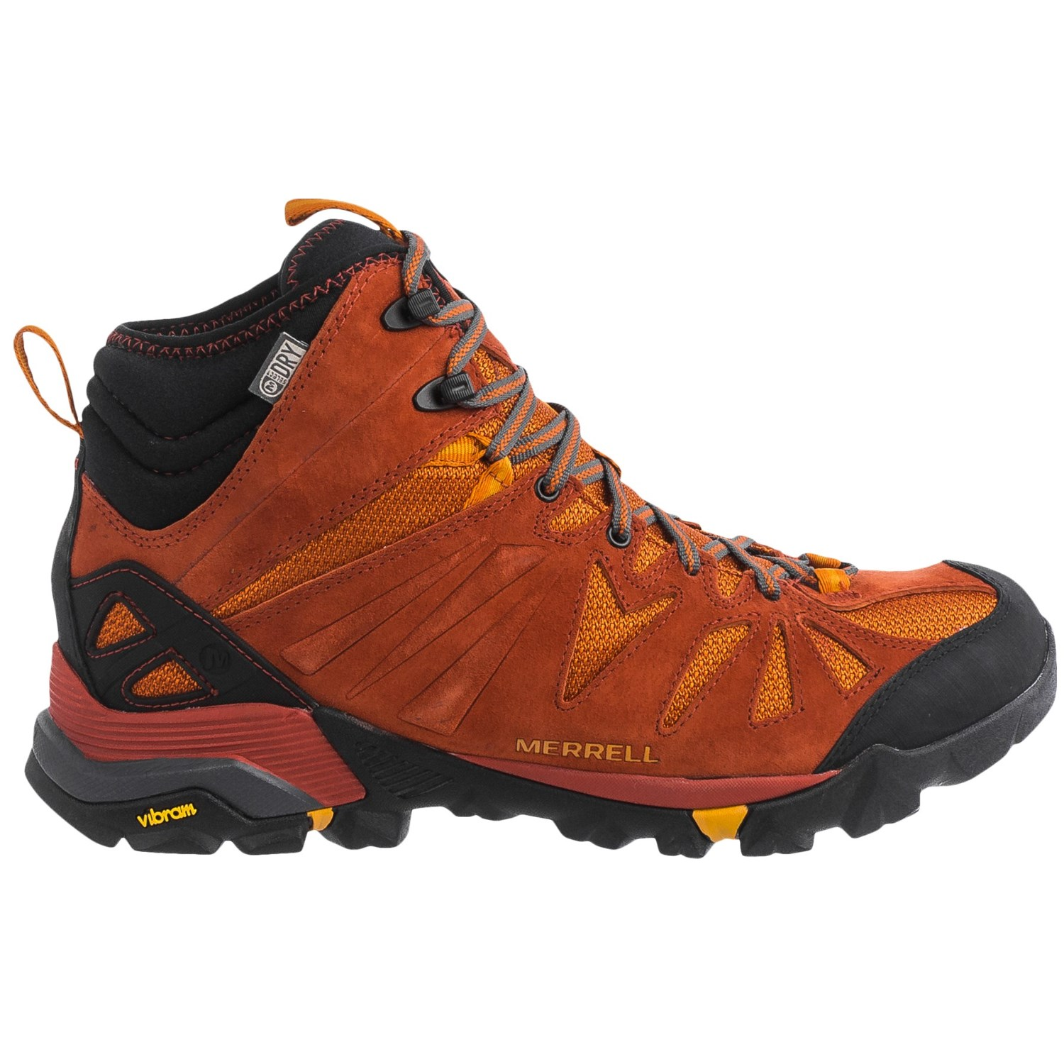 how to clean merrell hiking boots
