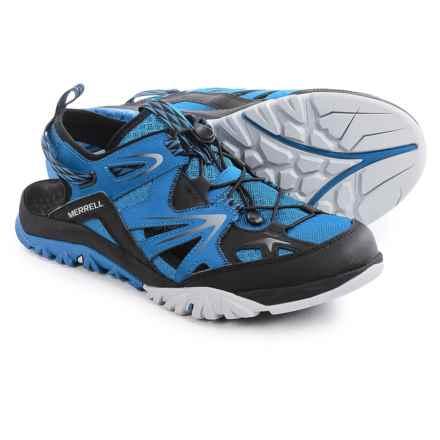 Merrell Capra Rapid Sieve Sport Sandals (For Men) in Blue Dusk - Closeouts