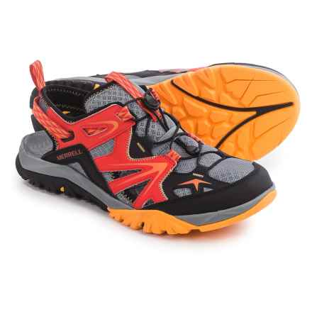 Merrell Capra Rapid Sieve Sport Sandals (For Men) in Bright Red - Closeouts