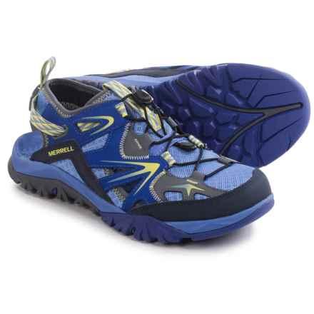 Merrell Capra Rapid Sieve Sport Sandals (For Women) in Purple - Closeouts