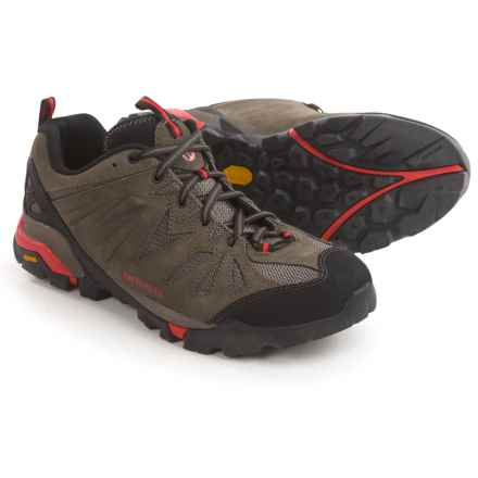 Merrell Capra Trail Hiking Shoes - Suede (For Men) in Boulder - Closeouts