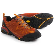 Merrell Capra Trail Hiking Shoes - Suede (For Men) in Dark Rust - Closeouts