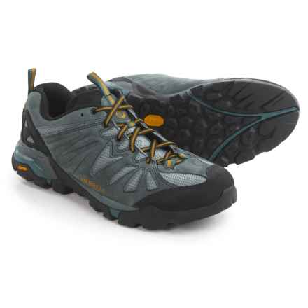 Merrell Capra Trail Hiking Shoes - Suede (For Men) in Turbulence - Closeouts