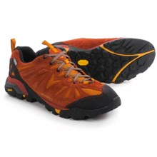 Merrell Capra Trail Hiking Shoes - Waterproof, Suede (For Men) in Dark Rust - Closeouts