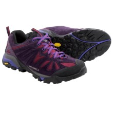 Merrell Capra Trail Shoes (For Women) in Wild Plum - Closeouts