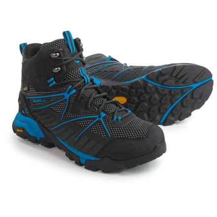 Merrell Capra Venture Mid Gore-Tex® Surround Hiking Boots - Waterproof (For Men) in Black - Closeouts