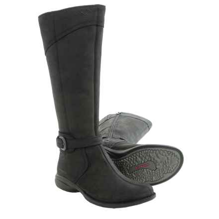 Merrell Captiva Buckle-Up Snow Boots - Waterproof (For Women) in Black - Closeouts