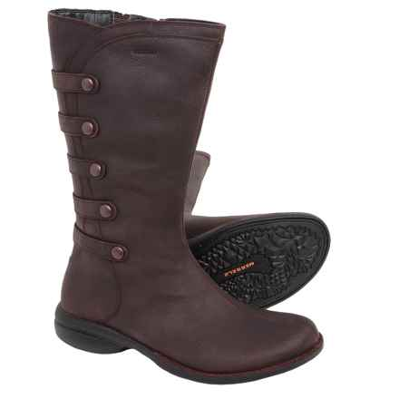 Merrell Captiva Launch 2 Boots - Waterproof, Leather (For Women) in Burgundy - Closeouts