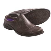 Merrell Captiva Slides - Leather (For Women) in Bracken - Closeouts