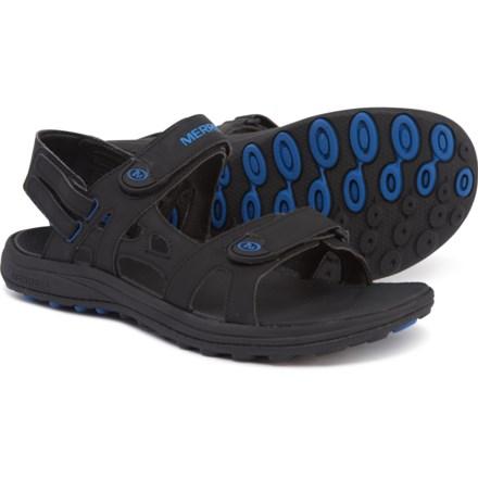 2011f21be5eb Merrell Cedrus Convertible Sport Sandals (For Men) in Black Blue