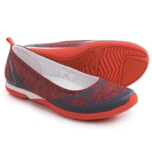 Merrell Ceylon Ballet Flats (For Women) in Cayenne/Grey - Closeouts