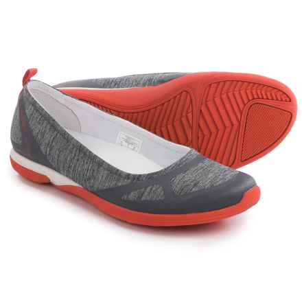 Merrell Ceylon Ballet Flats (For Women) in Monument/Red - Closeouts